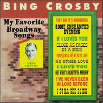Bing Crosby - My Favorite Broadway Songs [CD] USA import
