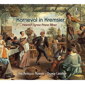 H. Biber - Heinrich Ignaz Franz Biber: Karneval in Kremsier [CD] USA import