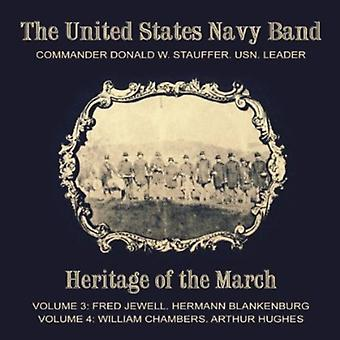 Jewell/Blankenburg, H.L./Chambers, W.P./Hughes, a.W. - Heritage of the March, Vols. 3 & 4 [CD] USA import