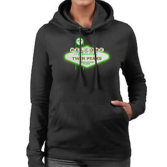 Viva Twin Peaks Las Vegas Women's Hooded Sweatshirt