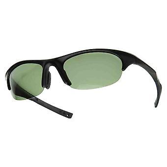 La mitad del marco deportivo polarizado marco gafas de sol