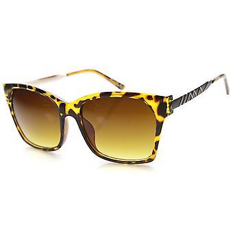 Okulary przeciwsłoneczne damskie placu z UV400 chronione gradientu obiektywu