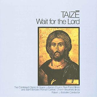 Taize - Wait for the Lord [CD] USA import
