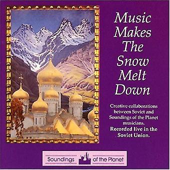 Music Makes the Snow Melt - Music Makes the Snow Melt [CD] USA import