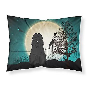 Halloween Scary Bouvier des Flandres Fabric Standard Pillowcase