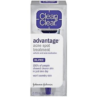 Clean & clar avantajul acnee spot tratamentul