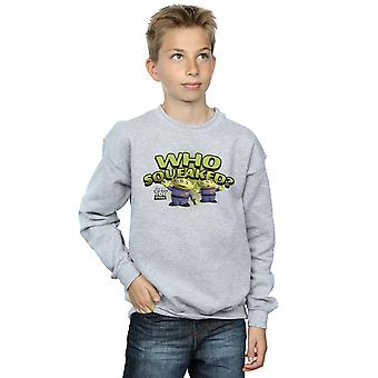 Disney Boys Toy Story Who Squeaked? Sweatshirt
