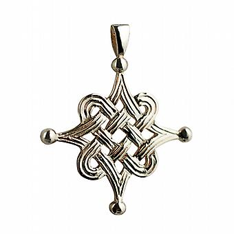 9ct Gold 32x32mm Celtic Islamic design Pendant