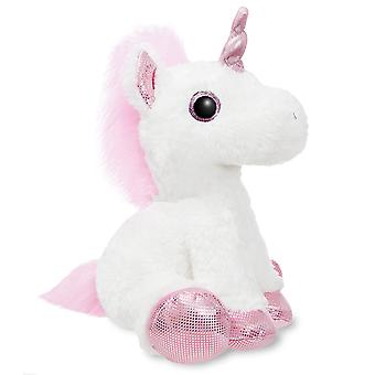 Aurora World 60854 Sparkle Tales Princess Unicorn 12in White