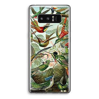 Samsung Galaxy Note 8 gjennomsiktig sak (myk) - Haeckel Trochilidae