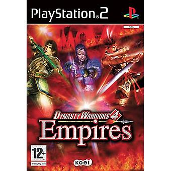 Dynasty Warriors 4 Empires (PS2) - Nouvelle usine scellée