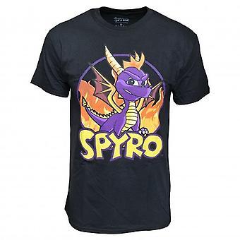 Spyro Spyro Fire Men's Spyro The Dragon T-shirt