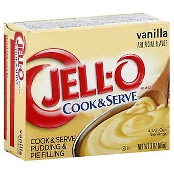 Jell-O vanille Cook & Serve Pudding en Pie vulling