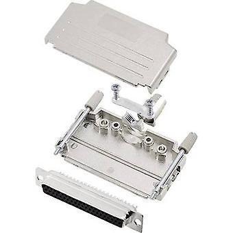 encitech DPPK37-M-HDS62-K 6355-0014-14 D-SUB BuchseSet 180 ° Anzahl der Stifte: 62 Lötschaufel 1 Set
