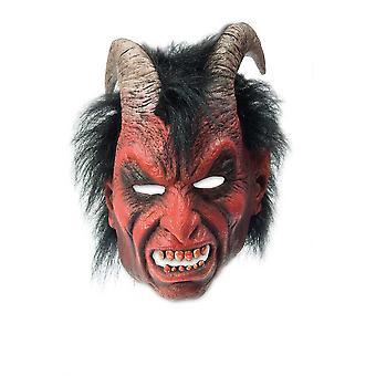 Máscara de horror de diablo de Diablo Diablo Máscara Halloween demonio