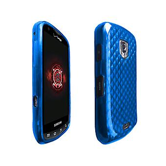OEM Verizon High Gloss silicone case voor Samsung Droid charge SCH-I510 (blauw) (bulk verpakking)