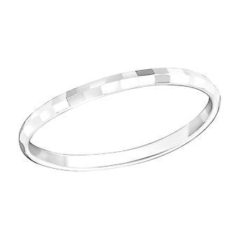 Facette - 925 Sterling Silber Plain Ringe - W18292X