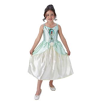 Tiana eventyr eventyr prinsessen kjole for barn