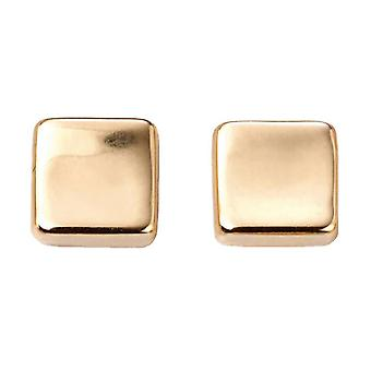 Elementit kultaa Square korvakorut - kulta