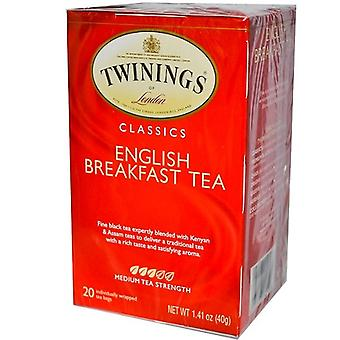 Twinings Of London English Breakfast Pure Black Tea