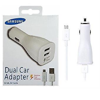Chargeur de voiture Samsung EP-LN920UWEGWW avec le câble Micro USB