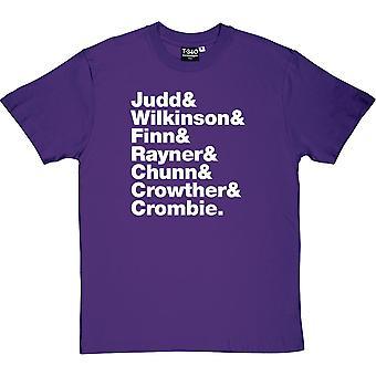 Split Enz Line-Up mäns T-Shirt