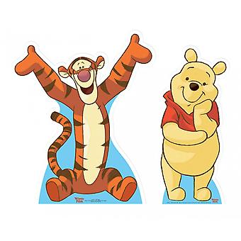 Winnie the Pooh and Tigger Lifesize Cardboard Cutout / Standee  Set