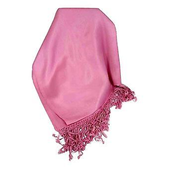 Bamboo Satin Pashmina in Pink by Pashmina & Silk