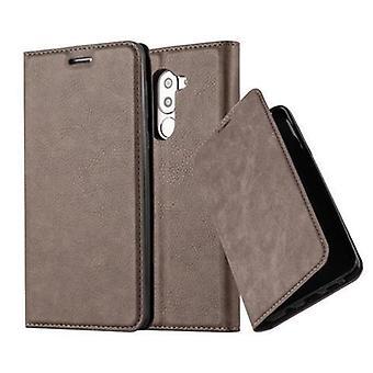 Cadorabo Hülle für Honor 6X غطاء القضية -- Handyhülle mit Magnetverschluss ، Standfunktion und Kartenfach -- غطاء القضية Schutzhülle Etui Tasche كتاب Klapp نمط