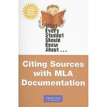 Wat iedere Student moet weten over citeren bronnen met MLA documentatie