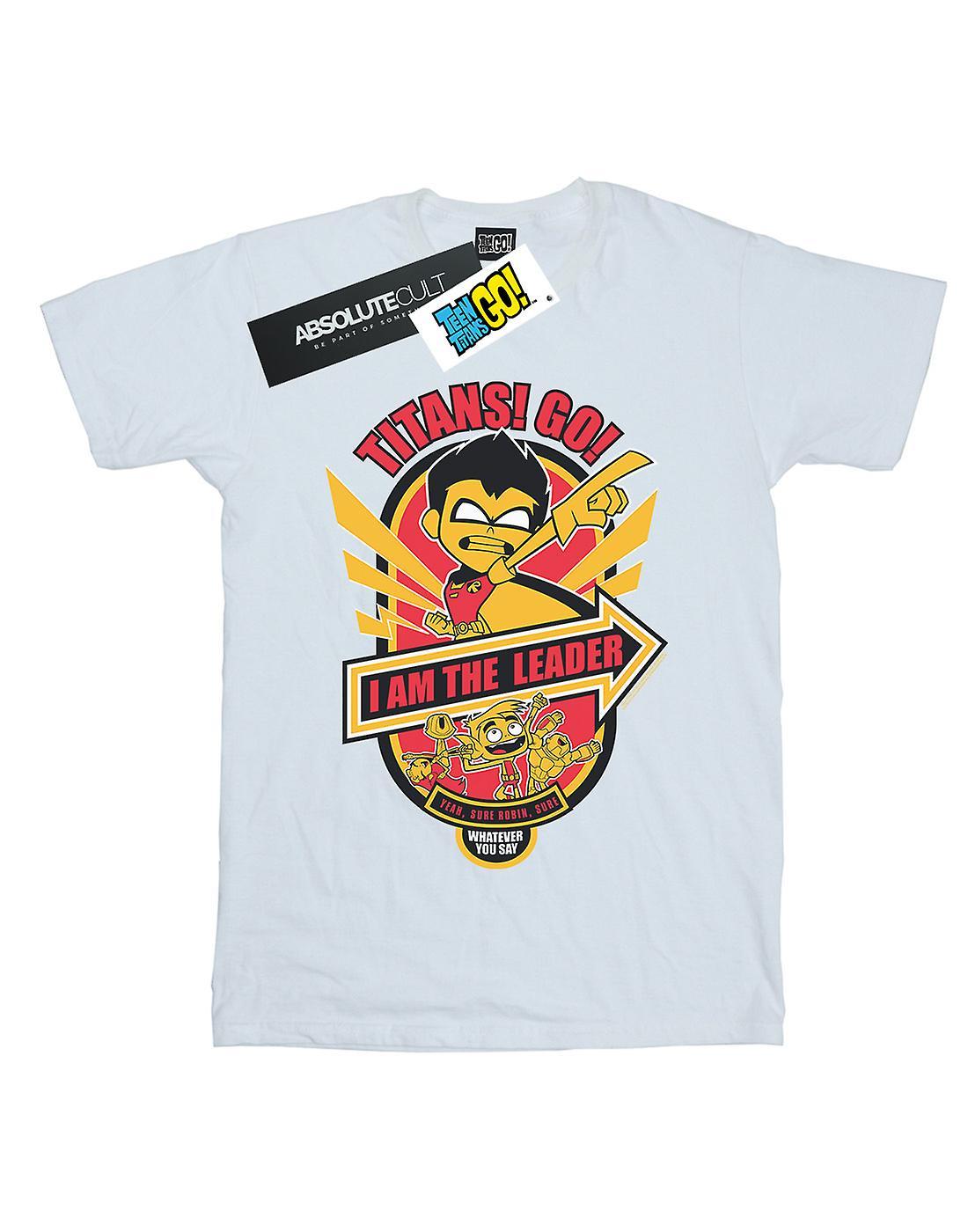 DC Comics Boys Teen Titans Go I Am The Leader T-Shirt