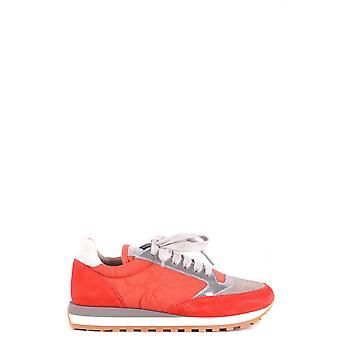 Brunello Cucinelli Ezbc002070 Women's Red Fabric Sneakers