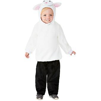 Karitsan puku vauvan unisex Carnival eläin puku