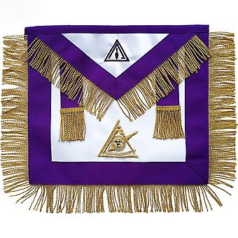 Masonic Council PIM Past Illustrious Master Apron Hand Embroidered