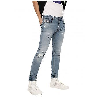 Diesel Sleenker 086at Skinny Jeans-Light Blue
