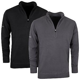 Benross Mens Pro Shell X HZ Golf Half-Zip Cotton Classic Premium Sweater