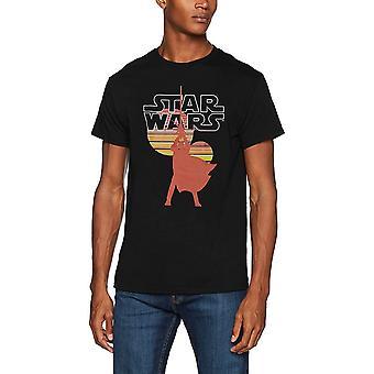 Star Wars voksne unisex voksne retro Suns design T-shirt