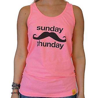 Team phun sunday phunday unisex tank top pink
