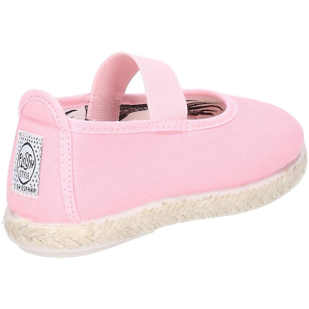 Flossy Girls Junior Astro Ballerina Casual Slip On Shoes
