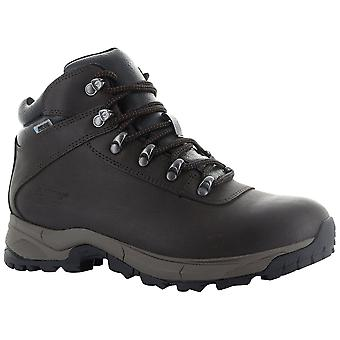 Hi-Tec Chocolate Womens Eurotrek Lite WP Walking Boots