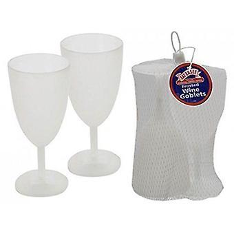Bundle Eat Easee - Frosted Wine Goblets - 2 Packungen geliefert