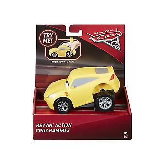 Disney Cars Rev & Race Push Down Car (Cruz Ramirez)