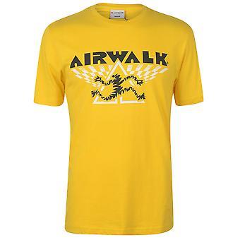 Airwalk hombres running hombre camiseta camiseta camiseta top manga corta cuello redondo