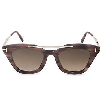 Tom Ford Anna-02 FT0575 55K 49 Cat Eye Sonnenbrille