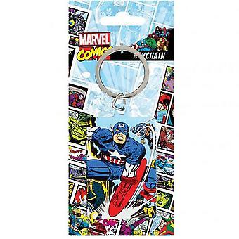Marvel Comics Captain America Metal sleutelhanger
