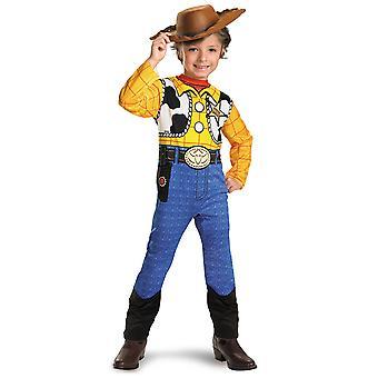 Woody Sheriff clásico vaquero Disney Pixar juguete historia Vestido de traje de los niños