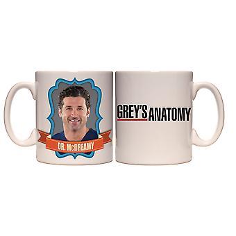 Mug - Grey's Anatomy - Dr Mcdreamy Coffee Cup 15oz New cmg15-ga-mdfm