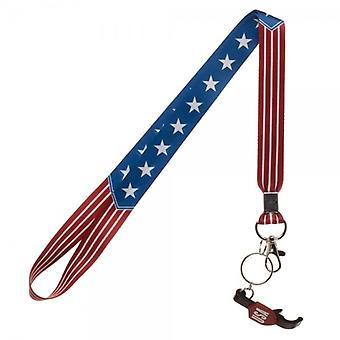 Lanyard - Americana - w/Bottle Opener New Licensed la5kpcgen