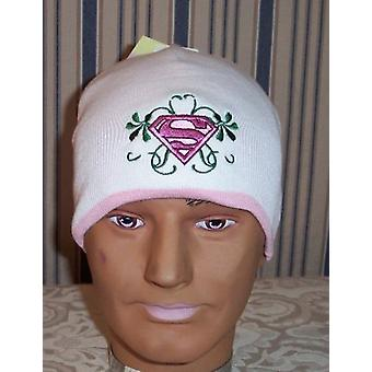 Beanie Cap - DC Comic - Supergirl White Hat Anime Toys Gifts sm6001