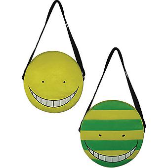 Plush Bag - Assassination Classroom - Koro Sensei Faces New Licensed ge84630